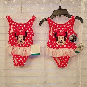 Disney baby Minnie Mouse bathing suits